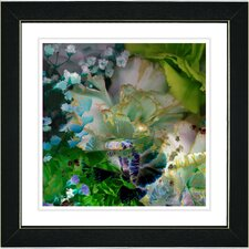 'Royal Carnations' by Zhee Singer Framed Fine Art Giclee Painting Print