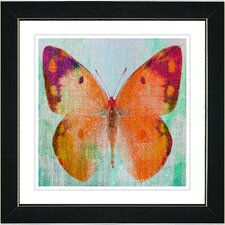 """Butterfly"" by Zhee Singer Framed Fine Art Giclee Painting Print"