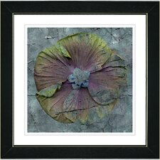 """Mudflower"" by Zhee Singer Framed Fine Art Giclee Painting Print"