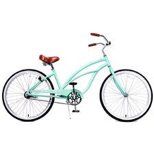 Woman's Marina Alloy 1-Speed Beach Cruiser Bike
