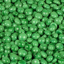 5 lbs of  Glass Gems in Electric Green