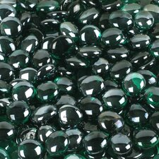 5 lbs of  Glass Gems in Emerald Green