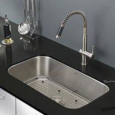 """Parmi 30"""" x 18.16"""" Undermount 16 Gauge Single Bowl Kitchen Sink"""