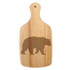 Woodland River Bear Paddle Cheese Board