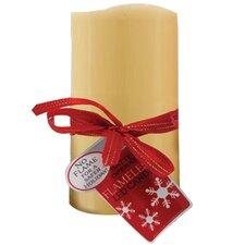 Vanilla Flameless Pillar Candle