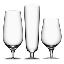 3 Piece Beer Glass Set