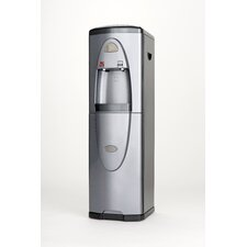 Hot and Cold Free-Standing Water Cooler in Silver