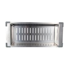 "19.25"" x 8.5"" Kitchen Sink Colander"
