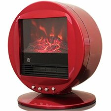 Himalayan Heat Circular 2000 W Electric Fireplace