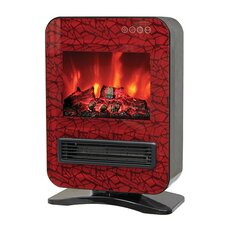 Portable Electric Fireplace with Remote Control