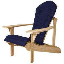 Western Red Cedar Outdoor Adirondack Chair Cushion