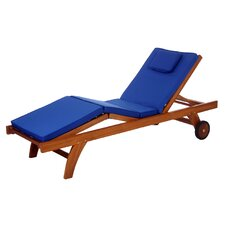 Java Teak Outdoor Lounger Cushion