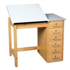 Fiberesin Dowel Adjustable Drafting Table
