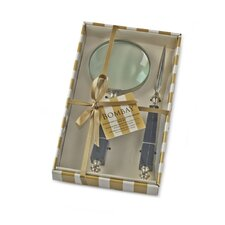 Letter Opener and Magnifying Glass