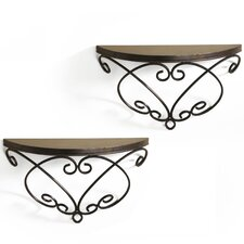 Metal Shelf (Set of 2)