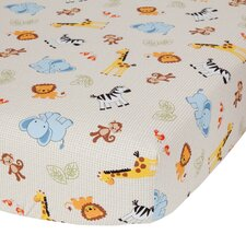 Jungle Buddies Crib Sheet