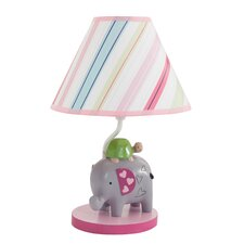 """Sprinkles 16"""" H Table Lamp with Empire Shade"""