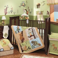 Enchanted Forest 5 Piece Crib Bedding Set