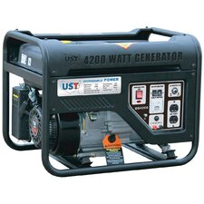 4,200 Watt Gasoline Generator with Recoil Start