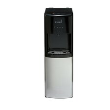 Bottom Loading Hot and Cold Free-Standing Water Dispenser in Black