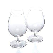 Stemmed Pilsner Beer Glass (Set of 2)