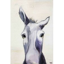 """""""Donkey"""" by Tori Campisi Painting Print on Canvas"""