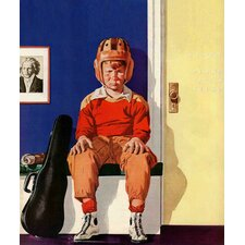 Musical Sport by Lonie Bee Painting Print on Canvas