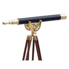 Anchor Floor Standing Leather Master Telescope