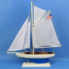 Defender Model Yacht