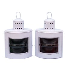 Port and Starboard Oil Lamp (Set of 2)
