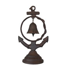 Anchor Table Bell Sculpture