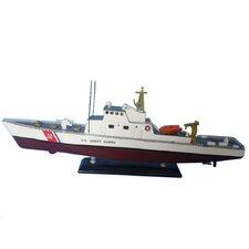 Wooden Coast Guard USCG Coastal Patrol Model Boat