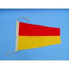 Number 7 Nautical Cloth Signal Flag Wall Décor