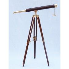 Floor Standing Leather Harbor Master Refractor Telescope