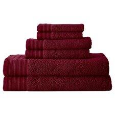 Spa Zero-Twist 6 Piece Towel Set