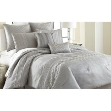 Reagan 8 Piece Comforter Set in Gray