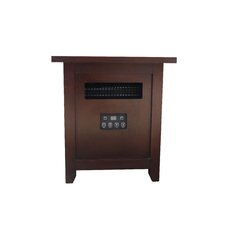 1,500 Watts Portable Electric Infrared Heater with Remote Control