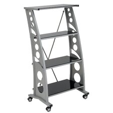 """Racing Style 55.25"""" Bookcase"""