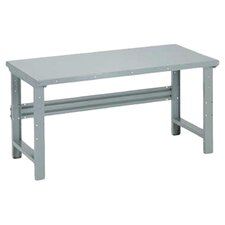 Open Height Adjustable Steel Top Workbench
