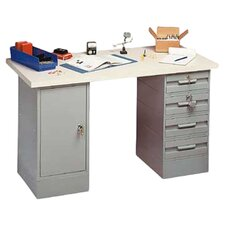 Modular Steel Top Workbench