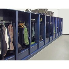 "Patriot Welded No Door Turnout Locker with 21"" Shelf"