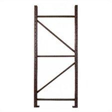 "Pallet Rack Upright Frames - 3"" x 1 3/4"" Post"
