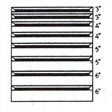 """Clipper Specialty Shelving - Modular Drawer Kits for 36"""" Wide Clipper Shelving - 8 Drawers"""