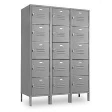 Vanguard 5 Tier 3 Wide Box Locker