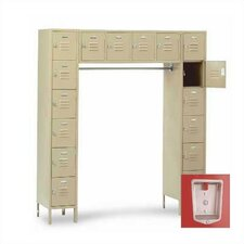 Vanguard 6 Tier Contemporary Locker