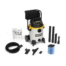16 Gallon 6.5 Peak HP Stainless Steel Wet / Dry Vacuum