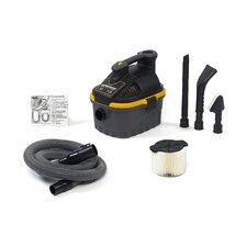 4 Gallon 3.5 Peak HP Portable Wet/Dry Vacuum