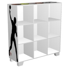 "CubeIts Sports 9 Cube 36"" Bookcase"