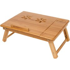 Folding Bamboo Rectangle Serving Tray