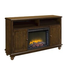 """Pearson Media Cabinet and 23"""" Electric Fireplace"""